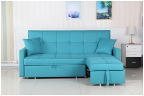 Modern fashion new design linen fabric sofa bed