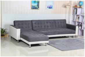 现代休闲的3座组合式沙发床