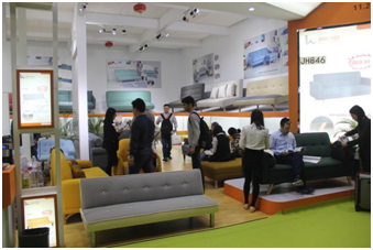 Jian Hui participates in International Furniture Fair